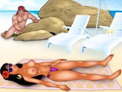 Шпион на пляже играть