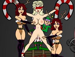Блондинка на Рождество 3 играть