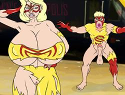 Веселье супер героини играть