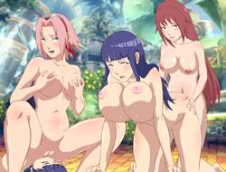Секс-группа Конохи играть